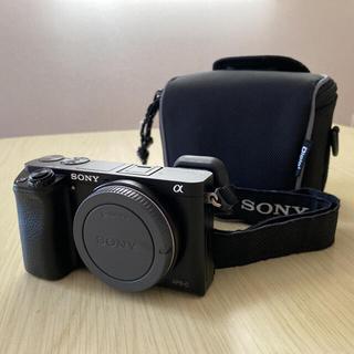 SONY - SONY ミラーレス一眼α6000(本体)+バッテリー+充電器+ケース