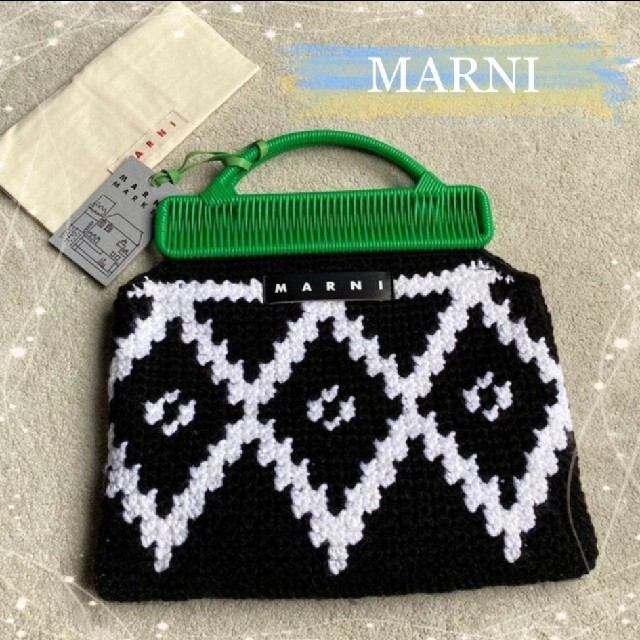Marni(マルニ)のMARNI FLOWER CAFE❤︎マルニ クロシェバッグ レディースのバッグ(ハンドバッグ)の商品写真