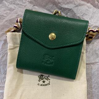 IL BISONTE - イルビゾンテ IL BISONTE 二つ折り財布 がま口財布  c0423