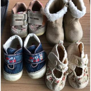 ミキハウス(mikihouse)のミキハウス セット ブーツ スニーカー シューズ 靴(スニーカー)
