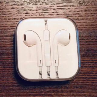 Apple - 未使用 アップル純正イヤホン iPhone 6 付属品 ジャックタイプ