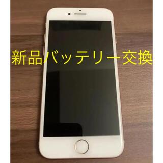 Apple - iPhone 8 64GB GOLD SIMフリー バッテリー新品