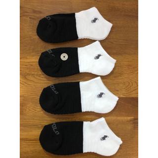 ラルフローレン(Ralph Lauren)の新品ポロラルフローレン レディースソックス 靴下 4足セット411(ソックス)