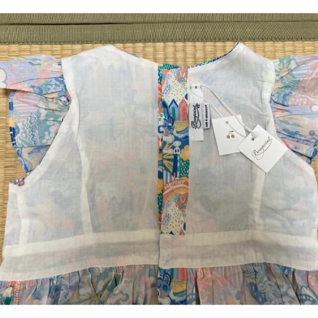 Bonpoint(ボンポワン)の最終価格 新品タグ付き Bonpoint ボンポワン ワンピース キッズ/ベビー/マタニティのキッズ服女の子用(90cm~)(ワンピース)の商品写真