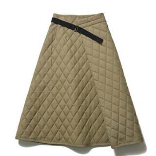 デミルクスビームス(Demi-Luxe BEAMS)のELIN キルティングスカート エリン(ひざ丈スカート)