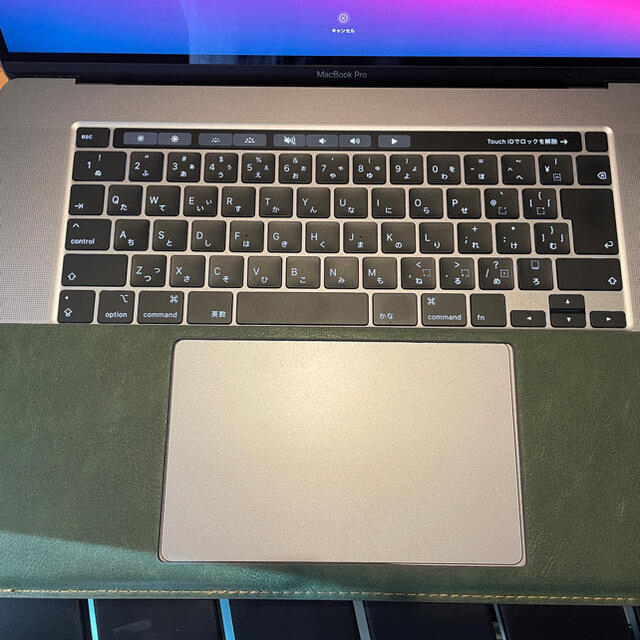 Mac (Apple)(マック)のMacBook Pro 16インチ 2019  i7 16GB 512GB スマホ/家電/カメラのPC/タブレット(ノートPC)の商品写真