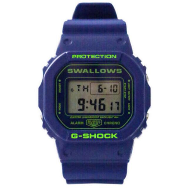 G-SHOCK(ジーショック)のG-SHOCK(2021年Swallowsモデル)ヤクルトスワローズ メンズの時計(腕時計(デジタル))の商品写真