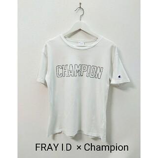 フレイアイディー(FRAY I.D)のFRAY I.D   Champion コラボ Tシャツ(Tシャツ(半袖/袖なし))