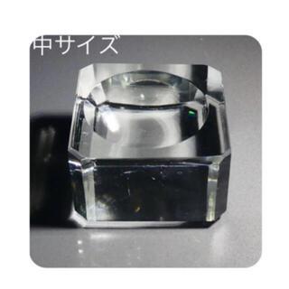 天然石用 台座 スクエア クリア 中サイズ 台座のみ ¥480