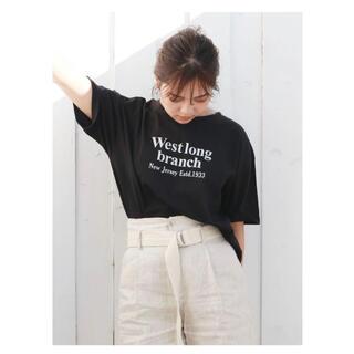 アングリッド(Ungrid)のungridロゴTシャツ(Tシャツ(半袖/袖なし))