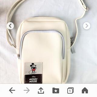 ディズニー(Disney)のインレッド付録ミッキーマウス(ショルダーバッグ)