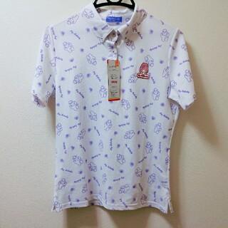 サンリオ(サンリオ)のマイメロディの半袖ポロシャツ 抗菌消臭・吸汗速乾・快適フィット・UPF50+(ウエア)