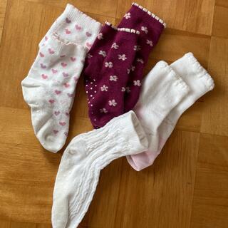 ユニクロ(UNIQLO)の靴下 4枚セット 9〜12cm(靴下/タイツ)