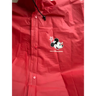 Disney - ディズニー レインポンチョ ミニー