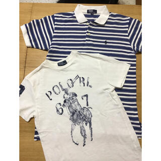Ralph Lauren - 週末sale☆ラルフローレン☆140-150センチ☆半袖ポロシャツTシャツセット