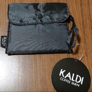 カルディ オリジナルエコバッグ ○ブラック(エコバッグ)