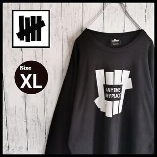 UNDEFEATED - 【希少デザイン】アンディフィーテッド ビッグロゴ ビッグシルエットTシャツ XL