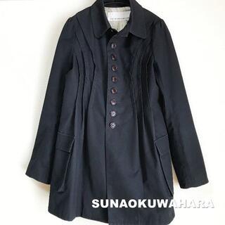 スナオクワハラ(sunaokuwahara)の【SUNAO KUWAHARA】フロントグリル ステンカラー コート(ロングコート)