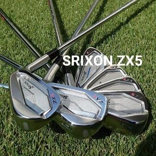 SRIXON ZX5 アイアン 5-P セット