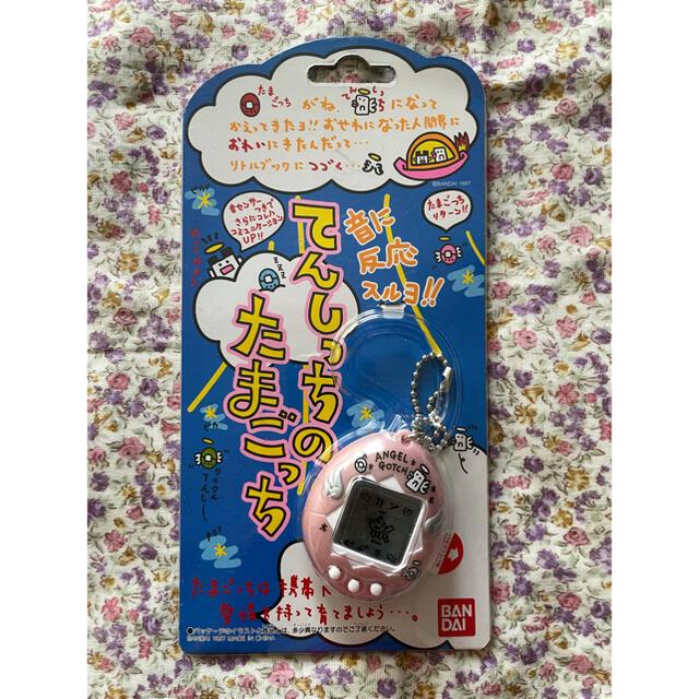 てんしっちのたまごっち ピンク 新品未使用 エンタメ/ホビーのゲームソフト/ゲーム機本体(携帯用ゲーム機本体)の商品写真