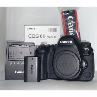 Canon - 【1221回!!】Canon eos 6D markII 6DM2 ボディ 本体
