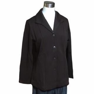 シャルレ(シャルレ)のシャルレ ニット ジャケット M ブラウン EL019 3002(テーラードジャケット)