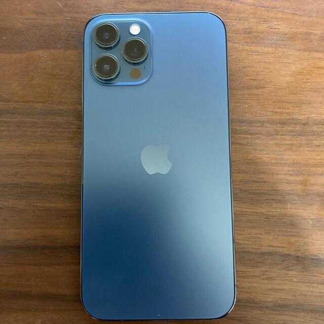 Apple(アップル)の☆smileyさん専用 iPhone12ProMAX 128GB ブルー スマホ/家電/カメラのスマートフォン/携帯電話(スマートフォン本体)の商品写真