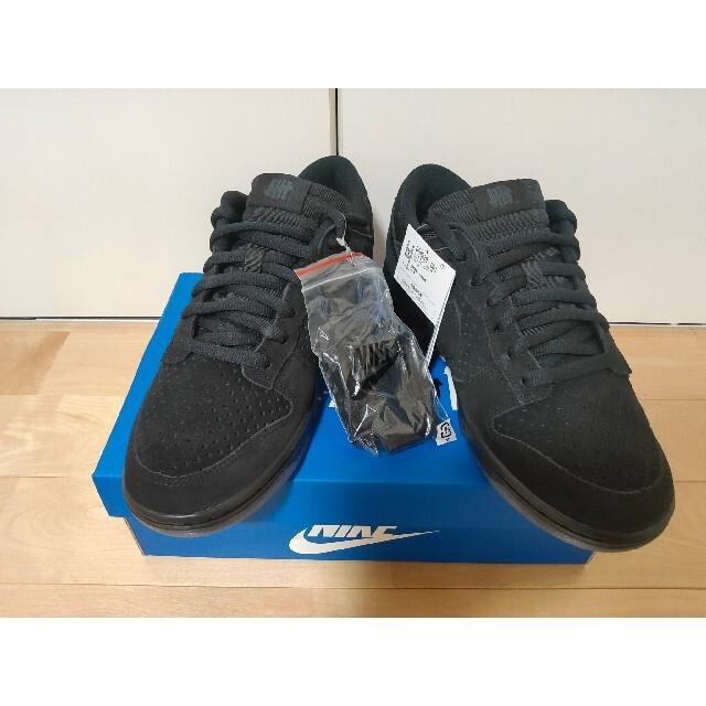 NIKE(ナイキ)のUNDEFEATED × NIKE DUNK LOW SP ブラック ダンク メンズの靴/シューズ(スニーカー)の商品写真