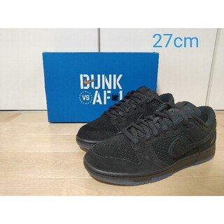 NIKE - UNDEFEATED × NIKE DUNK LOW SP ブラック ダンク