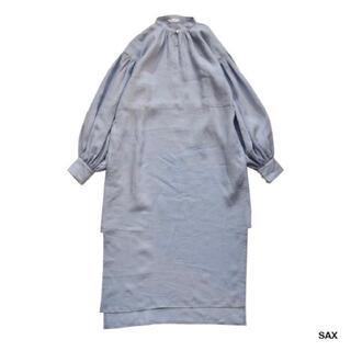 ホリデイ(holiday)のHOLIDAY ホリデイ RAMIE SLIT DRESS ラミースリットドレス(ロングワンピース/マキシワンピース)