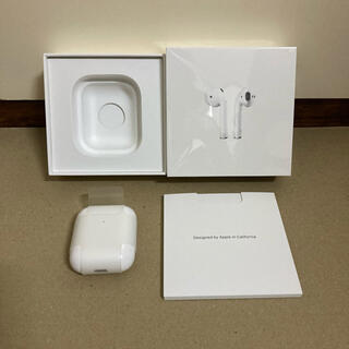 Apple - 【中古美品】AirPods2 Wireless Case 第2世代 ケーブルなし
