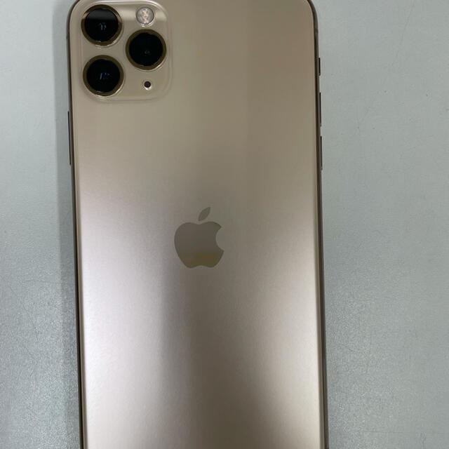 Apple(アップル)のiphone 11 pro max 256GB ゴールド SIMフリー スマホ/家電/カメラのスマートフォン/携帯電話(スマートフォン本体)の商品写真