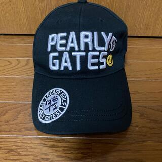 PEARLY GATES - パーリーゲイツ、キャップ  試着のみ