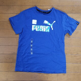 プーマ(PUMA)の新品☆PUMA☆Tシャツ☆160センチ(Tシャツ/カットソー)