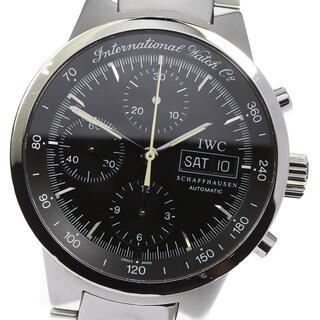 インターナショナルウォッチカンパニー(IWC)のIWC GST クロノグラフ デイデイト IW370708 メンズ 【中古】(腕時計(アナログ))