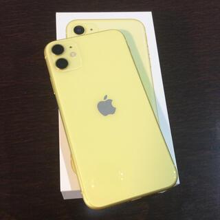 Apple - iPhone11本体 極美品 128G  イエロー