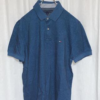 トミーヒルフィガー(TOMMY HILFIGER)の美品 トミーヒルフィガー ワンポイントロゴ刺繍ポロ ユニセックス c-610g(ポロシャツ)