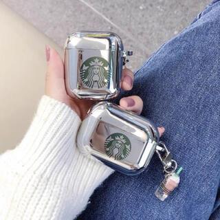 Starbucks Coffee - ‼️大人気‼️ Airpods 用ケース スターバックスチャーム付き