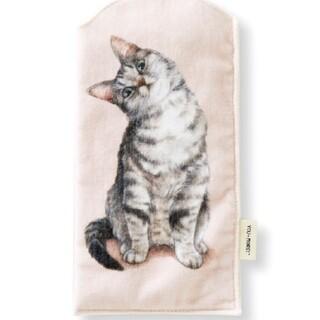 フェリシモ(FELISSIMO)の猫部 猫のペットボトルタオル フェリシモ キジトラ サバトラ ネコ (猫)