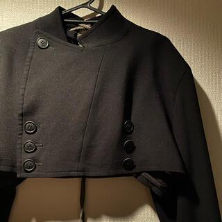 ヨウジヤマモト(Yohji Yamamoto)のVintage Y's lace up half drape jacket(テーラードジャケット)