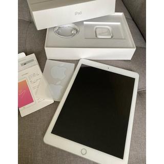 Apple - iPad 第6世代 32GB シルバー WiFiモデル アダプタ ケーブル付き