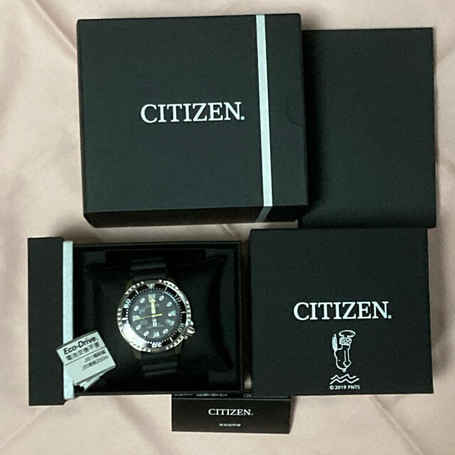 CITIZEN(シチズン)の500本限定 シチズン プロマスター  スヌーピー  ダイバーウォッチ 未使用 メンズの時計(腕時計(アナログ))の商品写真