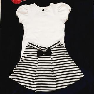 女の子 カットソー スカート 140(Tシャツ/カットソー)