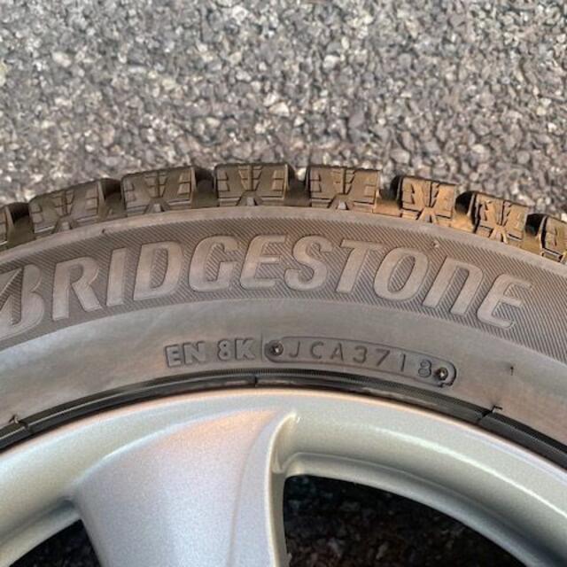 トップラン 16インチ 205/55R16 ブリヂストンスタッドレスセット 自動車/バイクの自動車(タイヤ・ホイールセット)の商品写真