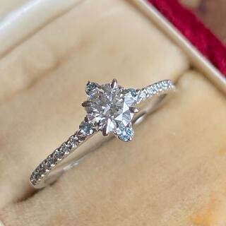 天然ダイヤモンド ハート&キューピッド ブルーダイヤ グレーディングレポート付き