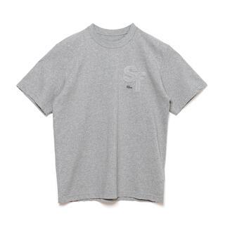 sacai - L グレー sacai x Fragment サカイ フラグメント Tシャツ