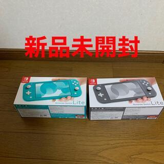 Nintendo Switch - ニンテンドーswitch lite ターコイズ グレー セット