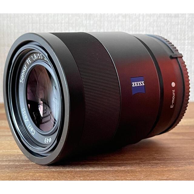 SONY(ソニー)のカルガモさん専用 T* FE 55mm F1.8 ZA SEL55F18Z スマホ/家電/カメラのカメラ(レンズ(単焦点))の商品写真