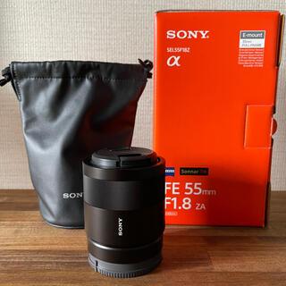 SONY - ソニー T* FE 55mm F1.8 ZA Sonnar SEL55F18Z