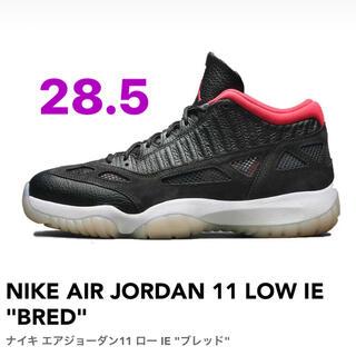 """ナイキ(NIKE)のNIKE AIR JORDAN 11 LOW IE """"BRED""""(スニーカー)"""